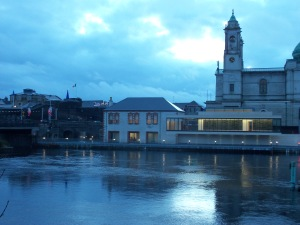 The Luan Gallery with Athlone Castle and St. Peter's and Paul's Church In the background