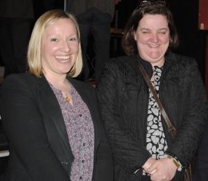 In happier Fine Gael times, Lucinda Creighton, with Gabrielle McFadden