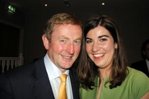 Taoiseach Enda Kenny and Cllr. Maura Hopkins