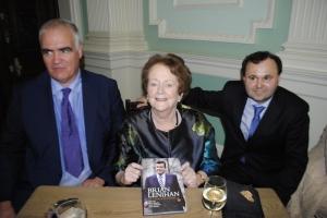 Editors of the new Brian Lenihan book - Noel Whelan, Mary O'Rourke and Brian Murphy
