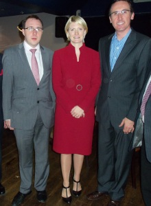 Happier FF Times - Deputy Robert Troy, Senator Averil Power and Cllr. Aengus O'Rourke