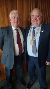 Cllr. Tom Farrell and Mayor John Dolan