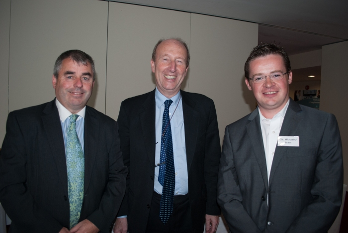 Deputy Kevin 'Boxer Moran, Deputy Shane Ross and Cllr. Michael O'Brien